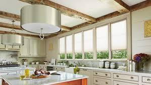 window kitchen interior with candlelight accordia custom levolor
