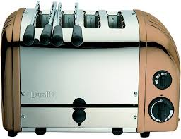 Dualit Toaster Cage Dualit Combi Aws 2x2 4 Slice Toaster Copper 42250