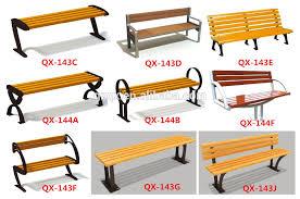Steel Outdoor Bench European Style Commercial Outdoor Furniture Bench Garden Bench