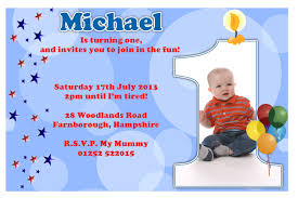 sample invitation for 1st birthday party iidaemilia com