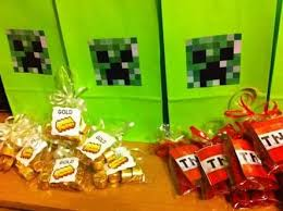 minecraft party decorations teki 25 den fazla en iyi minecraft party decorations fikri