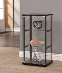 Curio Cabinets Pair Glass Curio Cabinet Ebay