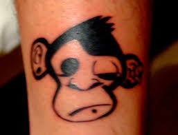 pin crazy monkeys tattoos tattoo designs pictures tribal and on