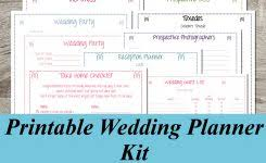 wedding planner guide free printable stylish steps to planning a wedding on your own 17 best ideas about