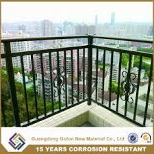 china exterior ornamental wrought iron balcony railings china