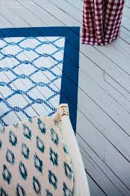 Painting An Outdoor Rug Deck Cover Backyard Deck Ideas Our Deck Makeover Reveal
