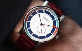 Nautical Themed Watches - martenero u0027s new watch collection nails the wrist game insidehook