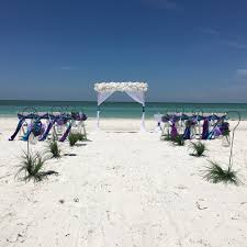 seashell beach weddings affordable florida beach weddings ceremonies