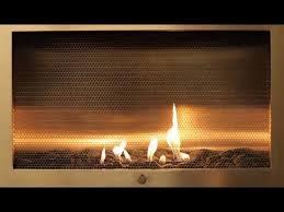 Fancy Fireplace by Fancy Stainless Steel Cabinet Fireplace Yule Log Video Youtube