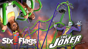 Six Flags New England Map by The Joker New Roller Coaster For Six Flags Over Texas In 2017