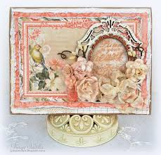 shabby chic birthday card featuring helmar premium craft glue
