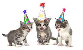 template free birthday ecards singing cats with free free printable cat themed birthday invitations drevio