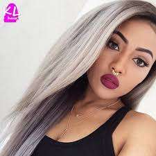 grey hair extensions 1b grey hair two tone ombre peruvian hair grey