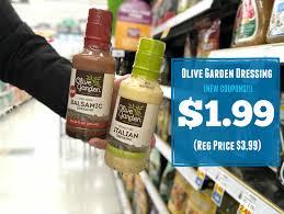 olive garden get olive garden salad dressing for only 1 99 at kroger reg