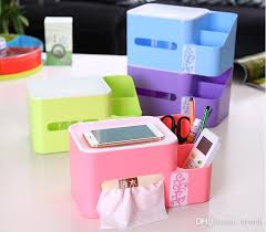 Storage Boxes Bathroom Multifunctional Automatic Lifting Plastic Tissue Box Fit Kitchen