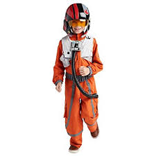 Star Wars Halloween Costumes Kids Amazon Star Wars Poe Dameron Costume Kids Clothing