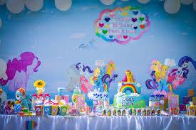 my pony birthday ideas kara s party ideas my pony tablescape from a my pony