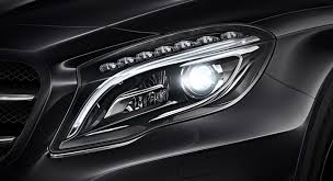 mercedes headlights benz headlight options