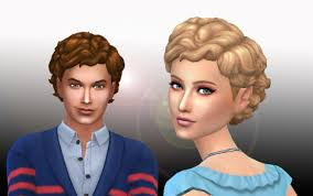 the sims 4 natural curly hair my stuff medium curly conversion