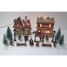 christmas sets christmas villages sets christmas villages the home depot