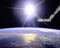 what does the sun look like viewed outside our atmosphere quora