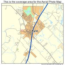 kyle map aerial photography map of kyle tx