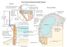 saving a hilltop pool professional deck builder foundation