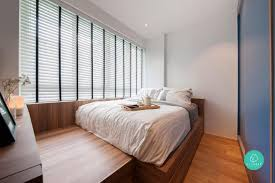 Hdb Master Bedroom Design Singapore 5 Ways To Maximise Your Master Bedroom Floor Area Qrmart