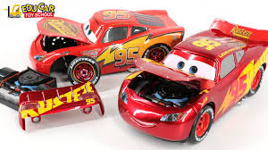 learning color special disney pixar cars lightning mcqueen mack