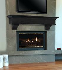 fireplace mantel shelf design plans side shelves modern interior