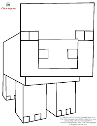 27 minecraft coloring pages images minecraft