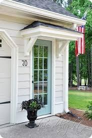 Front Door Awnings Wood Best 25 Side Door Ideas On Pinterest Side Porch Exterior Doors