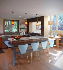 elegant contemporary breakfast bar design ideas