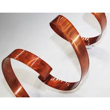 modern contemporary metal wall sculpture home decor copper wall
