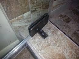 installing glass shower doors heavy glass shower door enclosures gallery tile u0026 stone