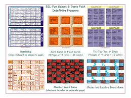 indefinite pronouns board game by eslfungames teaching resources
