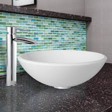 vigo industries vgt906 16 5 inch white phoenix stone glass vessel