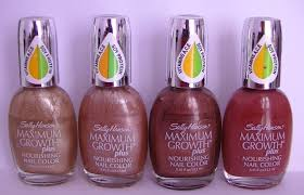 nail polish reviews swatches sally hansen maximum growth