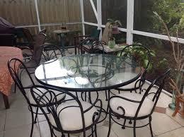 Woodard Patio Table Woodard Patio Table And 6 Chairs Furniture In Boca Raton Fl