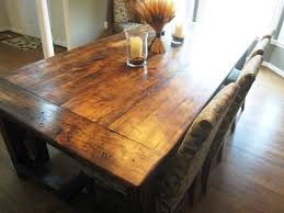 rustic farmhouse kitchen table sets ideas