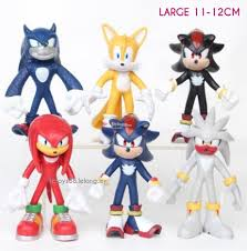 sonic cake topper sonic figures 12cm large sonic end 1 1 2018 1 15 pm