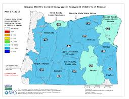 Zip Code Map Oregon by Cold Winter Brings High Snowpack Levels Across Oregon Oregonlive Com