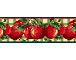 Apple Decorations For Kitchen by Wallpaper Borders For Kitchen Decorations U2014 Readingworks Furniture
