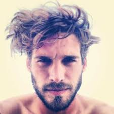 mens messy hairstyles transitioning hair surfer style this style