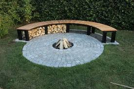 Building A Firepit In Backyard Diy Firepit Southern California Gardening Simple Diy Pit