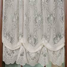 decor u0026 tips interesting vanessa lace balloon curtains for window
