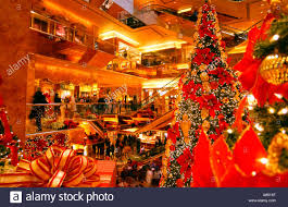 Trump Tower Interior Trump Tower Shopping Mall Interior Stock Photo Royalty Free