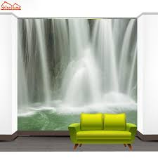 online shop shinehome waterfall water flow mural wall paper 3d online shop shinehome waterfall water flow mural wall paper 3d wallpaper for walls 3 d living room wallpapers papel de parede adesivo aliexpress mobile