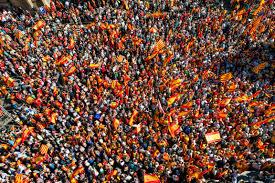 schweigende mehrheit u201d wird laut in katalonien tageblatt lu