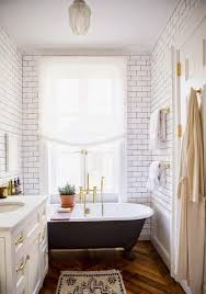 bright bathroom interior with clean subway tiles in 20 contemporary bathroom design ideas rilane
